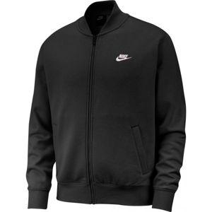 Nike NSW CLUB BOMBR JKT BB černá L - Pánský bomber
