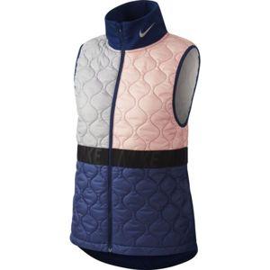 Nike AROLYR VEST W růžová L - Dámská běžecká vesta