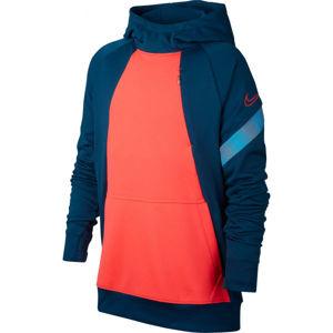 Nike DRY ACDPR HOODIE FP B oranžová L - Chlapecká fotbalová mikina