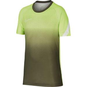 Nike DRY ACD TOP SS GX FP zelená L - Chlapecké fotbalové tričko