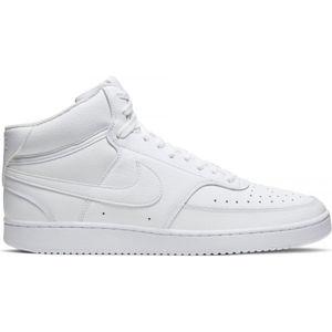 Nike COURT VISION MID bílá 10.5 - Pánská kotníková obuv