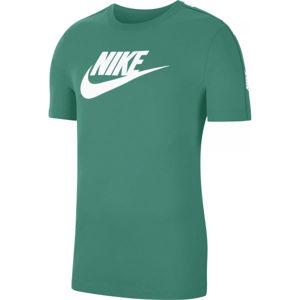 Nike NSW HYBRID SS TEE M zelená S - Pánské tričko