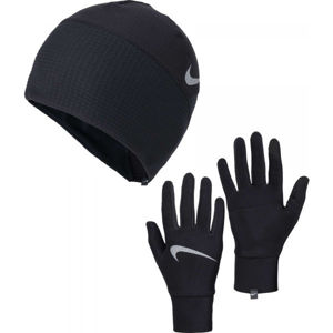 Nike MEN'S ESSENTIAL RUNNING HAT AND GLOVE SET  L/XL - Pánský běžecký set