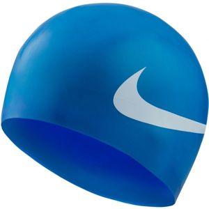 Nike BIG SWOOSH modrá NS - Plavecká čepice