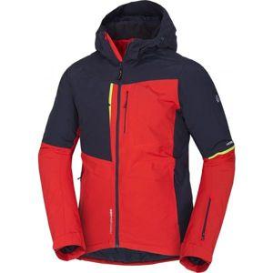 Northfinder CORIN červená L - Pánská lyžařská bunda