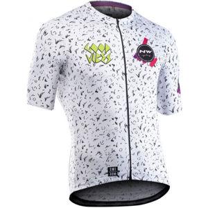 Northwave VIBES bílá XXL - Pánský cyklistický dres