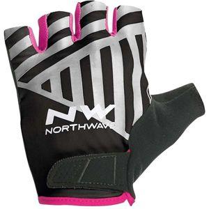 Northwave FLAG SHORT W GLOVES černá M - Cyklistické rukavice