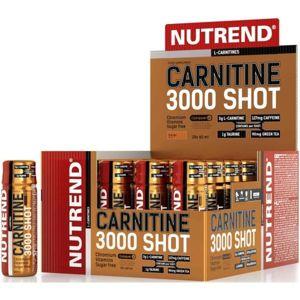 Nutrend CARNITINE 3000 SHOT POMERANČ  NS - L -carnitine