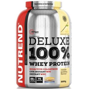Nutrend DELUXE 100% WHEY 2250G PUDINKOVÁ VANILKA  NS - Protein