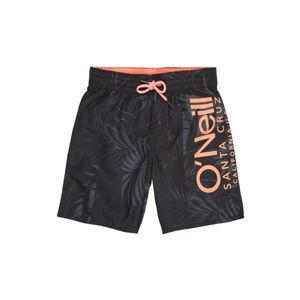 O'Neill PB CALI FLORAL SHORTS černá 140 - Chlapecké šortky do vody
