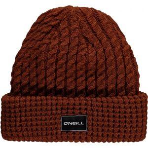 O'Neill BM CLASSY BEANIE hnědá NS - Pánská zimní čepice
