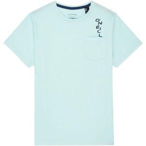 O'Neill LB JACKS BASE S/SLV T-SHIRT světle zelená 176 - Chlapecké tričko
