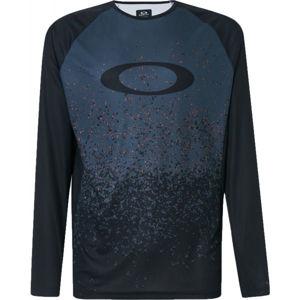 Oakley MTB LS TECH TEE černá XXL - Pánské cyklistické triko
