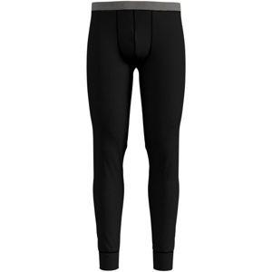 Odlo SUW BOTTOM PANT NATURAL 100% MERINO WARM černá M - Pánské funkční kalhoty