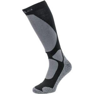 Odlo SOCKS OVER THE CALF ELEMENT černá 45-47 - Dlouhé ponožky
