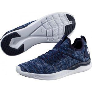 Puma IGNITE FLASH EVOKNIT modrá 11 - Pánská volnočasová obuv