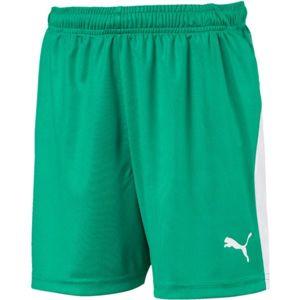 Puma LIGA SHORTS JR zelená 152 - Chlapecké sportovní trenky