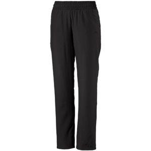 Puma ESS WOVEN PANT OP W černá XS - Dámské kalhoty