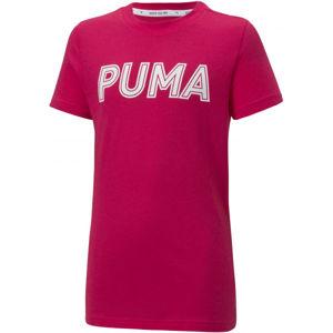Puma MODERN SPORTS LOGO TEE G  164 - Dívčí triko