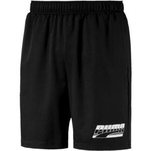 Puma REBEL WOVEN SHORTS 8 černá M - Pánské šortky