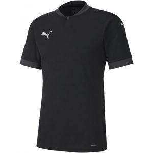Puma TEAM FINAL 21 JERSEY TEAM černá S - Pánské triko