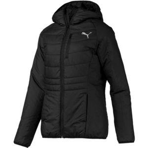 Puma WARMCELLPADED JACKET černá XL - Dámská sportovní bunda