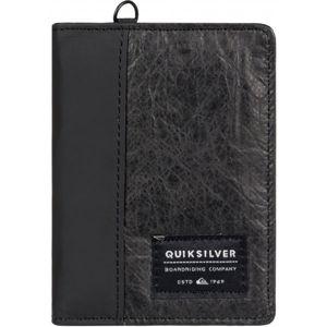 Quiksilver BLACKWINE/S černá  - Pánské pouzdro/peněženka