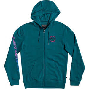 Quiksilver TIME CIRCLE SCREEN FLEECE  S - Pánská mikina