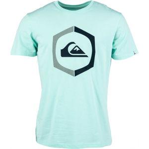 Quiksilver SURE THING SS modrá XXL - Pánské tričko