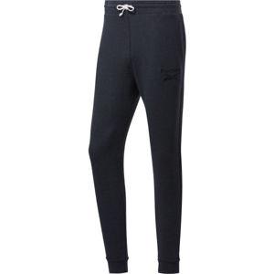 Reebok TE MELANGE PANT černá M - Pánské kalhoty