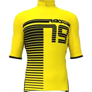 Rosti XC žlutá 2XL - Pánský cyklistický dres