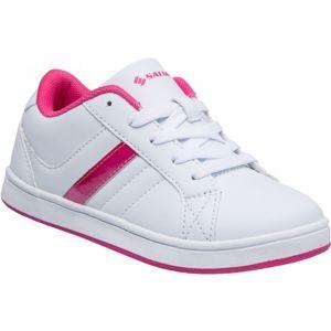 Salmiro RAULA fialová 32 - Juniorská volnočasová obuv