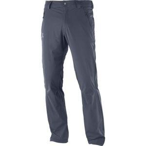 Salomon WAYFARER LT PANT M šedá 52 - Pánské outdoorové kalhoty