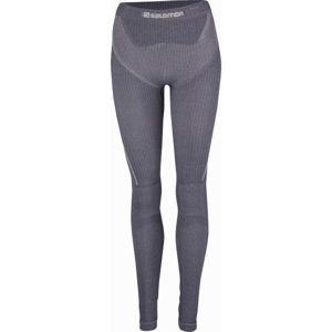 Salomon PRIMO WARM TIGHT W černá XS - Dámské termo kalhoty