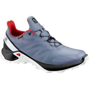Salomon SUPERCROSS GTX modrá 8 - Pánská trailová obuv