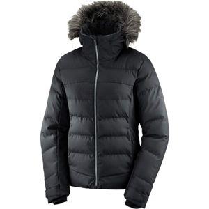 Salomon STORMCOZY JKT W černá XS - Dámská zimní bunda
