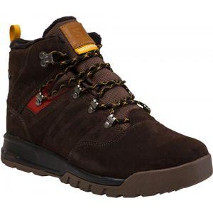 Salomon UTILITY TS CSWP hnědá 10.5 - Pánská zimní obuv