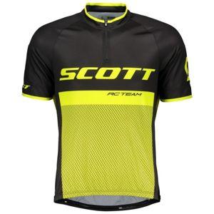 Scott RC TEAM 20 černá L - Pánský cyklistický dres