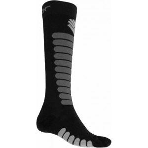 Sensor ZERO MERINO černá 6-8 - Ponožky