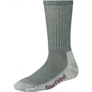 Smartwool HIKE LIGHT CREW W šedá S - Dámské turistické ponožky
