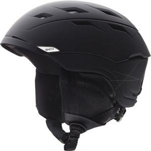Smith SEQUEL MATT BLACK černá (59 - 63) - Lyžařská helma