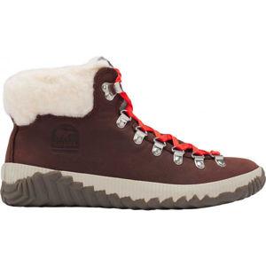 Sorel OUT N ABOUT PLUS CONQUES červená 6 - Dámská zimní obuv