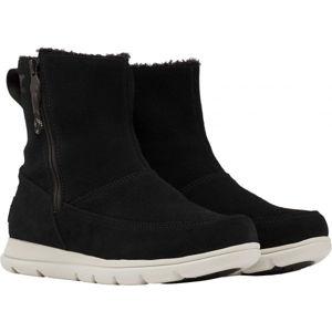 Sorel EXPLORER  ZIP černá 9 - Dámská zimní obuv