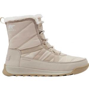 Sorel WHITNEY II SHORT LACE FU červená 6 - Dámská zimní obuv
