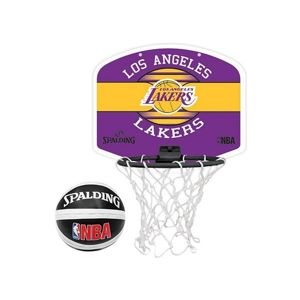 Spalding NBA MINIBOARD LA LAKERS žlutá NS - Basketbalový koš
