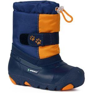 Spirale CERRO modrá 27 - Dětská zimní obuv
