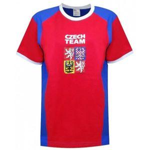 SPORT TEAM TRIČKO ČR KIDS červená 134 - Fanouškovské tričko