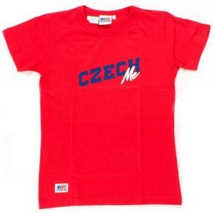 Střída Czech RED ME červená L - Fanouškovské tričko