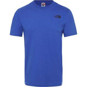 The North Face S/S RED BOX TEE modrá L - Pánské tričko