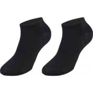 Tommy Hilfiger MEN SNEAKER 2P černá 43 - 46 - Pánské ponožky